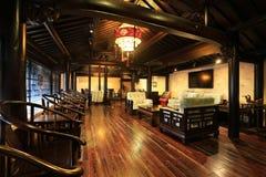 Den kinesiska matsalen Royaltyfria Foton