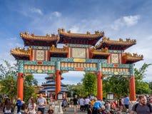 Den kinesiska paviljongen, värld ställer ut, Epcot Royaltyfri Foto