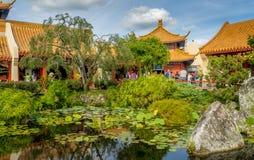 Den kinesiska paviljongen, värld ställer ut, Epcot Royaltyfria Foton