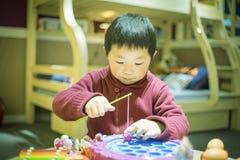 Den kinesiska pojken Fotografering för Bildbyråer