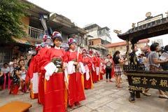 Den kinesiska traditionella ritualen av passagen Royaltyfri Fotografi