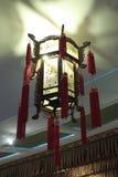 Den kinesiska traditionella slottlyktan Arkivfoton