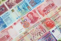 Den kinesiska valutan Royaltyfria Bilder