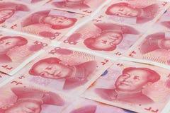 Den kinesiska valutan Royaltyfri Foto