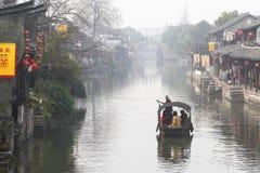 Den kinesiska vattenstaden - Xitang 2 arkivfoton