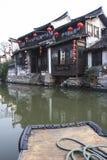 Den kinesiska vattenstaden - Xitang 4 Arkivfoto