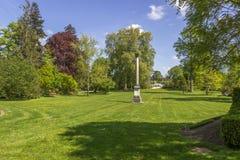 Den King's trädgården i Versailles, Frankrike Arkivfoto