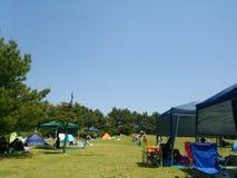 Den Kirara stranden parkerar Arkivfoto