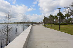 Den Kissimmee lakefronten parkerar Arkivfoton