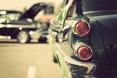 Den klassiska bilsvansen tänder närbild Royaltyfri Bild