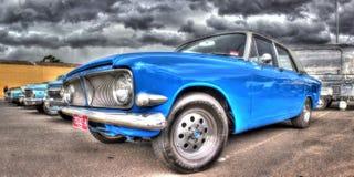 Den klassiska britten byggde Ford Zephyr Royaltyfria Bilder