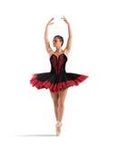 Den klassiska dansaren poserar Royaltyfria Foton