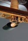 den klassiska gitarren heads maskinen Royaltyfria Foton
