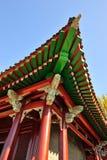 Den klassiska kinesen taklägger Royaltyfri Foto