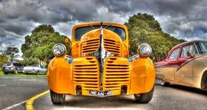 Den klassiska 40-tal Dodge väljer upp lastbilen Arkivbilder
