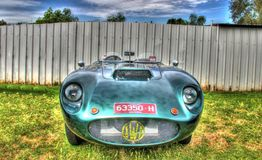 Den klassiska 60-talaustraliern byggde sportbilen för JWF Milano Arkivfoton