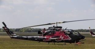Den Klocka AH-1 kobran Arkivfoto
