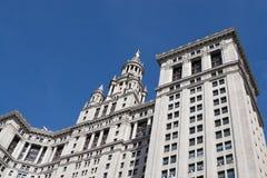 Den kommunala byggnaden i New York City royaltyfria foton
