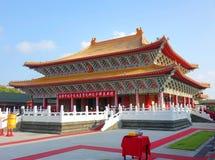 Den Konfucius templet i Kaohsiung, Taiwan Royaltyfria Bilder