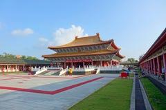Den Konfucius templet i Kaohsiung, Taiwan Arkivbild