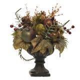 den konstgjorda buketten blommar frukter Arkivbild