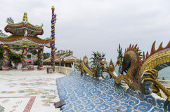 Khao Takiab tempel Royaltyfri Bild
