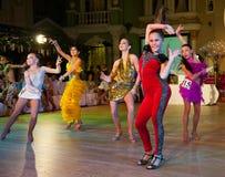 Den konstnärliga dansen tilldelar 2012-2013 Arkivbild