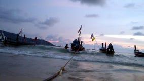 Den konung sjunker på det Andaman för fiskemanfartyg havet Royaltyfri Bild