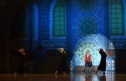 """Den konungens choice- Nights†för balett""""One tusen och en en Royaltyfri Foto"""