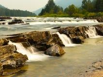 Den Kootenai floden Fotografering för Bildbyråer