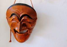den koreanska maskeringen för ger sig som gåvor Arkivbild