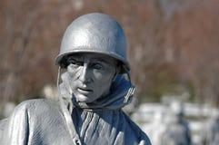 den koreanska minnesmärken kriger Royaltyfri Fotografi