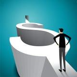 Den korrekta affärsidéen väljer Arkivbilder