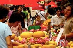 Den Kowloon staden marknadsför i Hong Kong, Kina Royaltyfria Bilder
