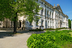 Den Krasinski slotten i Warszawa, Polen Arkivbilder