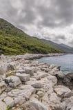 Den kroatiska klippan arkivfoto