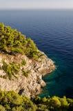 Den kroatiska klippan arkivbilder