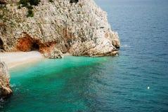 Den kroatiska kusten Royaltyfri Foto