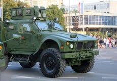 Den kroatiska militären ståtar, Zagreb 2015 10 fotografering för bildbyråer