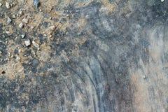Den kulöra stenväggen är bakgrund Arkivfoton