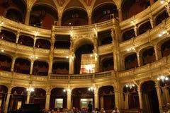 Den kungliga asken, opera Budapest arkivbilder