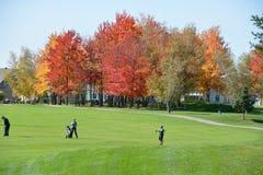 Den kungliga Bromont golfklubben Arkivfoto