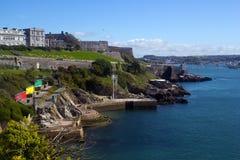 Den kungliga citadellen i Plymouth royaltyfri fotografi