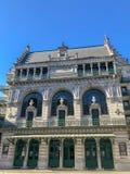 Den kungliga flamländska teatern, KVT, Koninklijk Vlaams teater, på mitten av Bryssel fotografering för bildbyråer