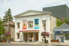 Den kungliga George Theatre i Niagarraen Kanada Arkivfoto