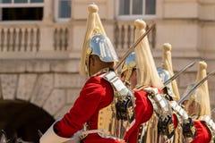 Den kungliga kavallerit royaltyfria foton