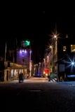 Den kungliga milgatan på natten Fotografering för Bildbyråer