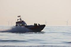 Den kungliga nederländska havsräddningsaktioninstitutionen Royaltyfria Bilder