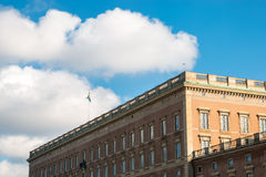 Den kungliga slotten av Stockholm Royaltyfri Foto