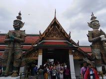 Den kungliga slotten i Bangkok arkivbild